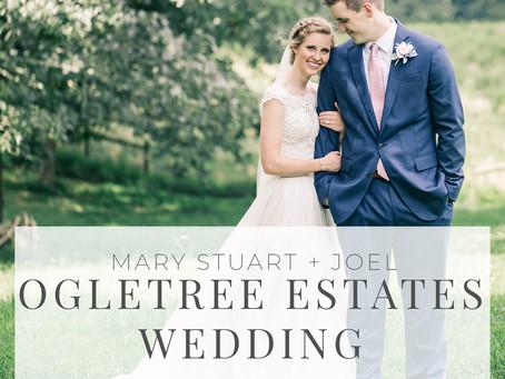 Ogletree Estates Summer Wedding | Mary Stuart + Joel