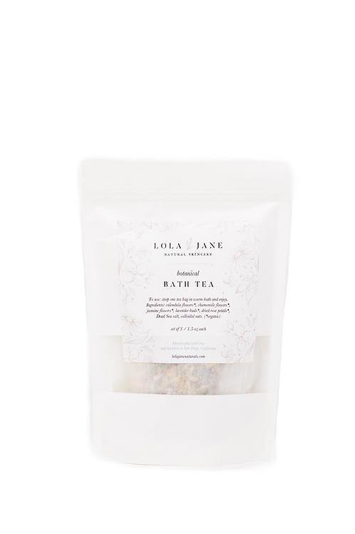 Lola Jane - Botanical Bath Tea