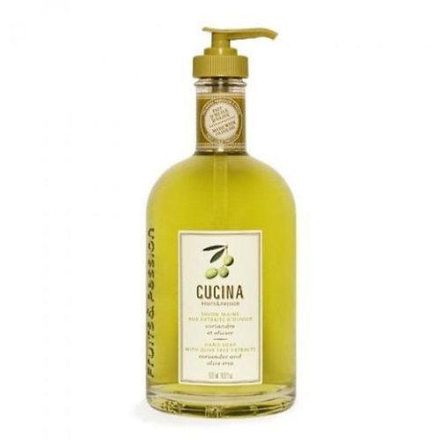Cucina Hand Soap - Coriander and Olive Tree