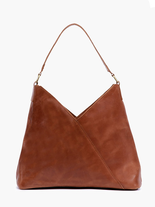 Solome Shoulder Bag: Whiskey