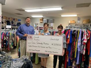 CBL Donates $12,500 to Greer Community Ministries