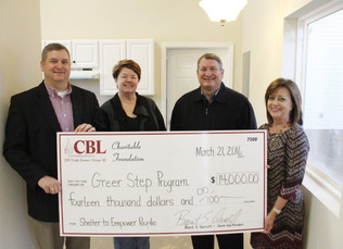 CBL Charitable Foundation Donates to Greer Step Program