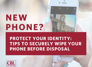 Protect Identity - Mobile Device Disposal