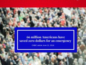 66 Million American Don't Have Anything Saved for an Emergency
