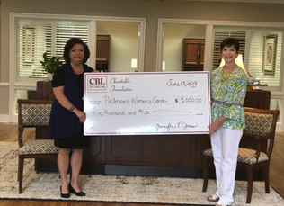 CBL Charitable Foundation Donates $5,000 To Piedmont Women's Center