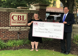 CBL Charitable Foundation Donates $2,500 To Joshua's Way