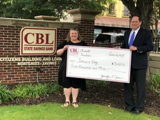 CBL Charitable Foundation Donates $2,500 To Joshua's Way