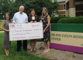 Greenville Tech Foundation Receives $5,000 from CBL Charitable Foundation