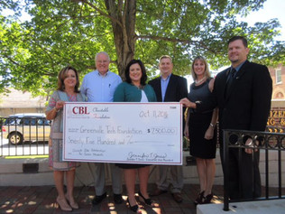 CBL Foundation Gives $7,500 to Support Quick Jobs at Greenville Technical College