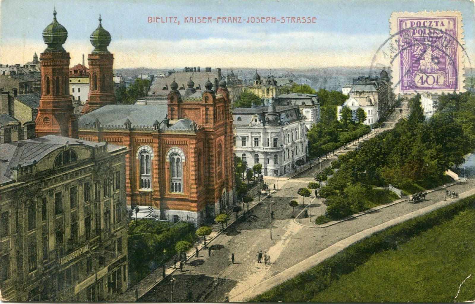Synagoga Bielsko