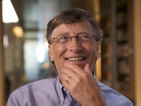 Os 4 hábitos de Bill Gates que separam os sonhadores dos fazedores