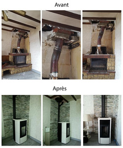 aménagement-remplacement-cheminée-par-poele-à-ganules
