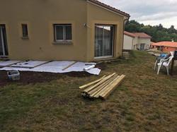 pose-terrasse-bois-préparation