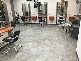 Parquet salon de coiffure