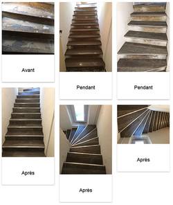 Rénovation-escalier