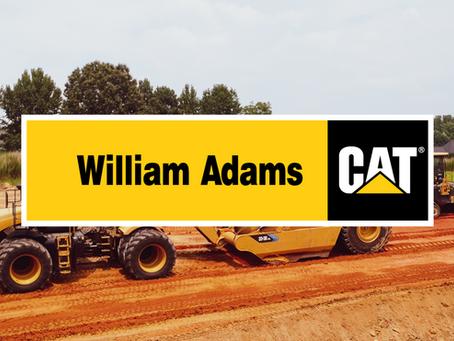New Dealer Announcement: William Adams CAT