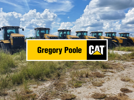 New Dealer Announcement: Gregory Poole Equipment Co.