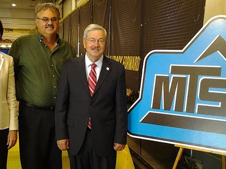 Iowa Governor, Lt. Governor Visit MTS