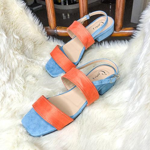 That Audrey Block Heels (Blue)