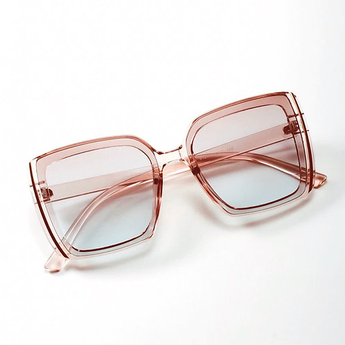 That Clear Pink Sunglasses