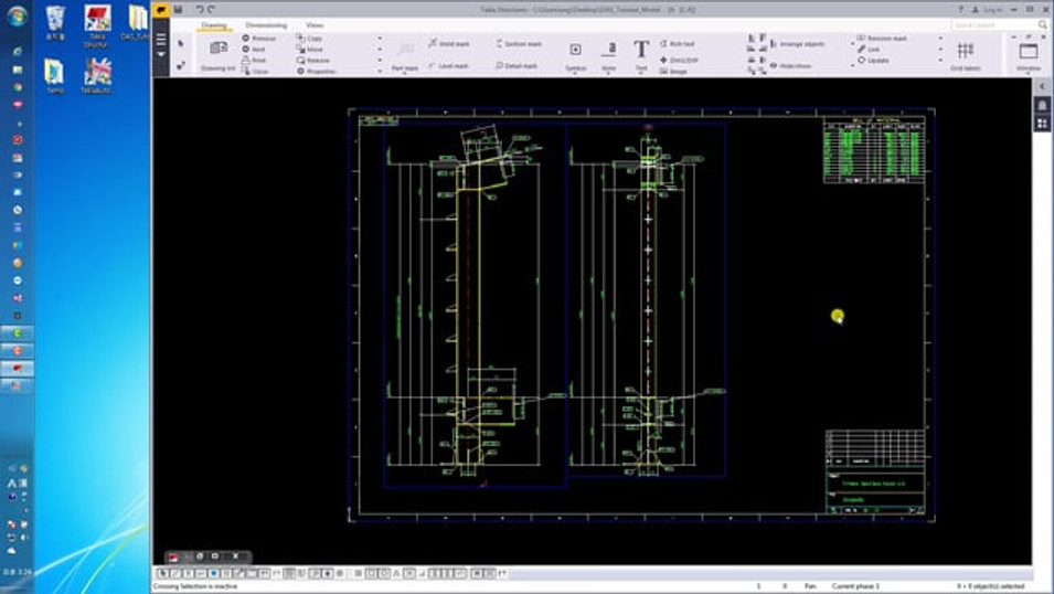[DAS] Tutorial 1 - Assembly 도면편집 시작하기