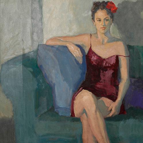 Berta Goldwaser, 'Flor Roja'