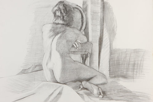 Berta Goldwaser, 'Posando'