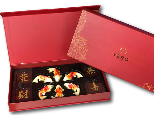 Koi Fish Chocolate Gift Set
