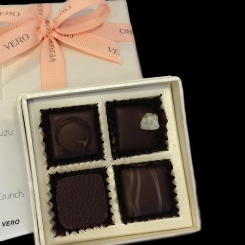 4 pcs bonbon gift box