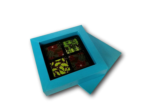 70% 16pc Dark Chocolate Square