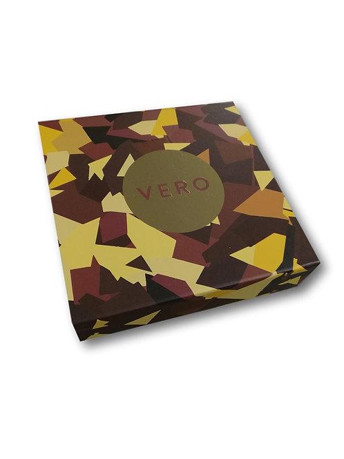 VERO Signature Dark Chocolate Custard Mooncake 4pcs