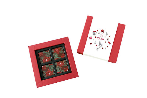 70% Premium Dark Chocolate Square 16pcs
