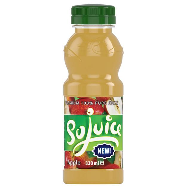 Juice Bottle 3D Render