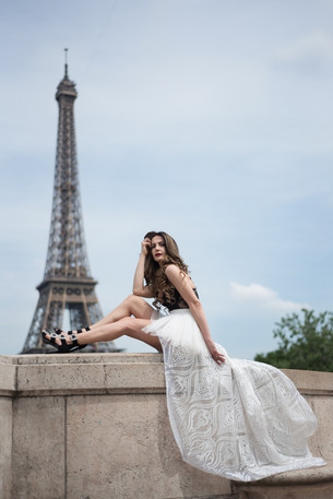 Editorial: 3 Year Modellennland anniversary shoot in Paris