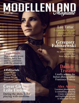 Bio: Cover Girl Leila Eledom - France/Japon