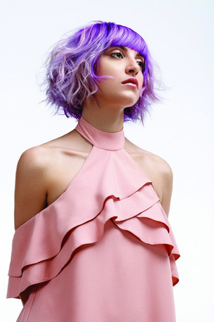 PURPLE Hair Collection By Laurie Cesari