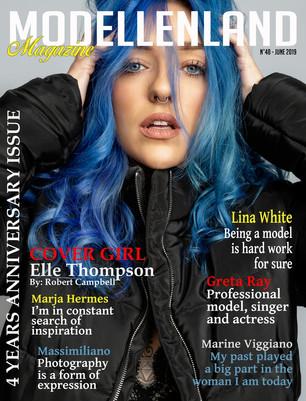 Interview Cover Girl Elle Thompson (Scotland, Uk)