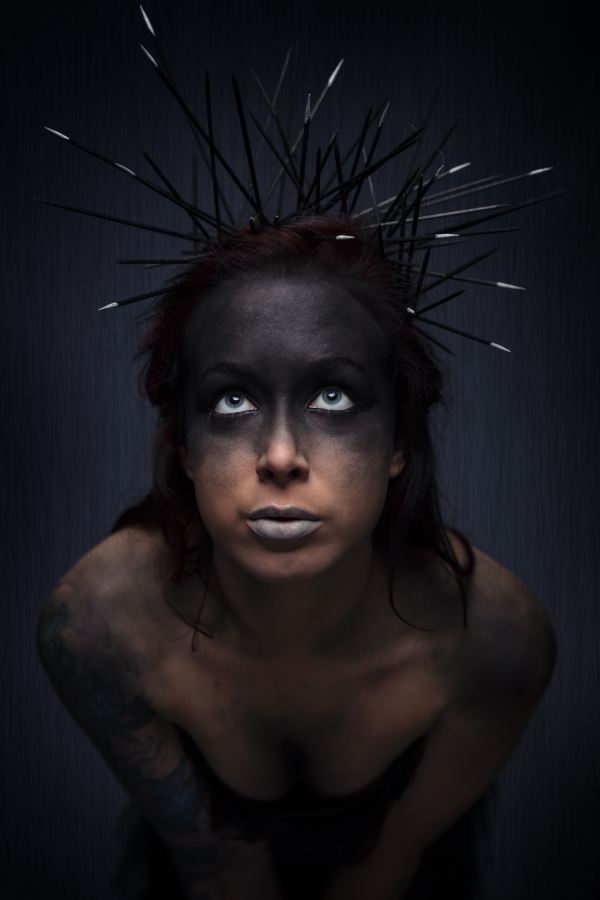 Model Aurore Hach -Make up Demonkey ARTWORK