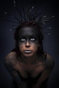 Model Aurore Hach -Make up Demonkey ARTWORK