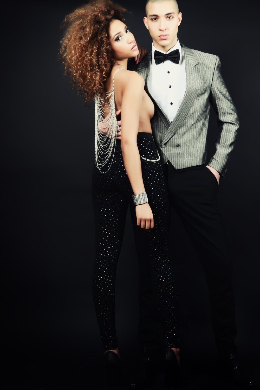 Model: Ishioma Okenmor and Don Anaflous