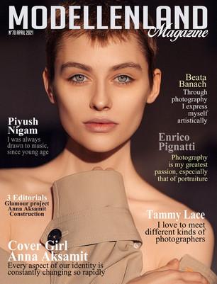 Interview: Cover Girl Anna Aksamit (Poland)