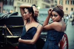 Model: Gabriella Cavand and Ambre Badipi