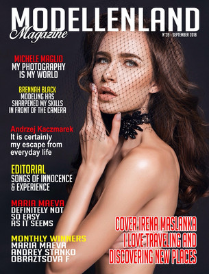Interview: Cover Girl Model Irena Maslanka (Winner of the Month) (Poland)