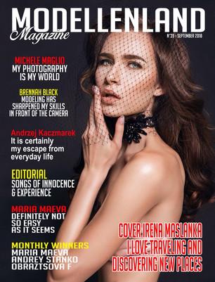 Interview: Cover Girl Model Irena Maslanka (Winner of the Month) (Poland)