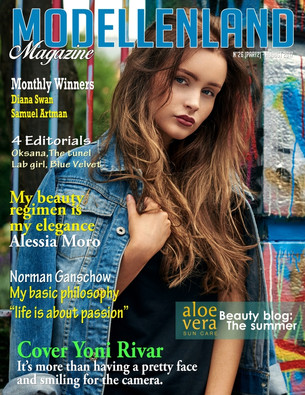 Interview: Cover Girl Yoni Rivar (Belgium)