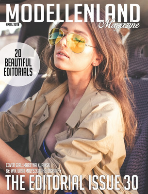 Interview: Model Martyna Kupińska (Poland) (Cover Girl Editorial issue 31)