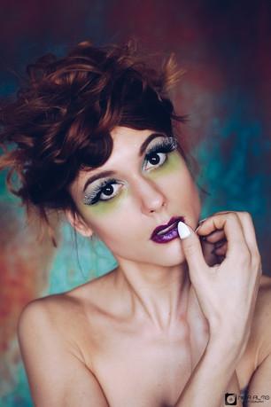 Interview:  Makeup artist & Photographer Nina Almo (Netherlands)