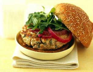 We Love Food: TUNA HAMBURGERS