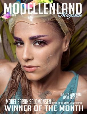 Bio: Model Sarah Salomonsen (Denmark) Winner of the month