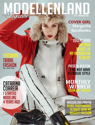Interview: Cover Girl Margarita Gordienko (Ukraine)